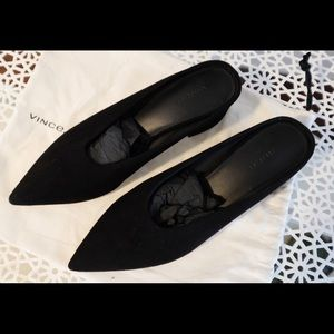 Vince Ralston Suede Mules PERFECT CONDITION